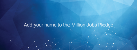 Add your name to the Million Jobs Pledge